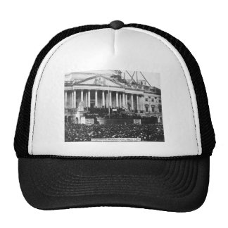 Inauguration of Abraham Lincoln March 4 1861 Hats