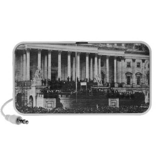 Inauguration of Abraham Lincoln March 4, 1861 Mini Speakers