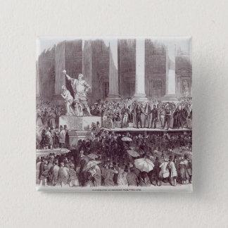 Inauguration of President Polk: The Oath 15 Cm Square Badge