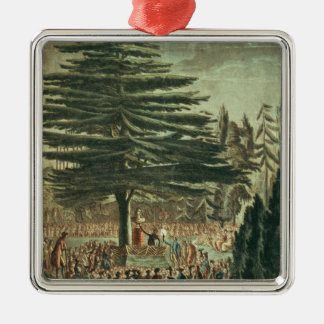 Inauguration of the bust of Carl Linnaeus Christmas Ornament