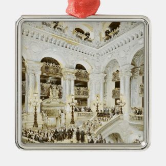 Inauguration of the Paris Opera House Christmas Ornament