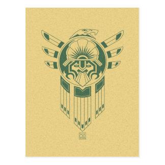 Inca Bird Tattoo postcard