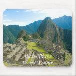 Inca citadel of Machu Picchu, Cuzco - Peru Mousepads
