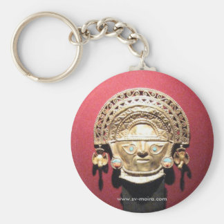 Inca gold ceremonial knife (Tumi),  Lima, Peru Key Ring