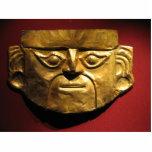 Inca gold mask, Lima, Peru Standing Photo Sculpture