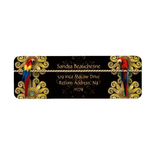 Inca Macaws - Black Gold