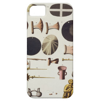 Inca tools and artefacts, Peru, from 'Le Costume A iPhone 5 Case