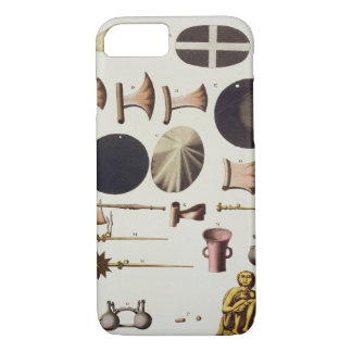 Inca tools and artefacts, Peru, from 'Le Costume A iPhone 7 Case