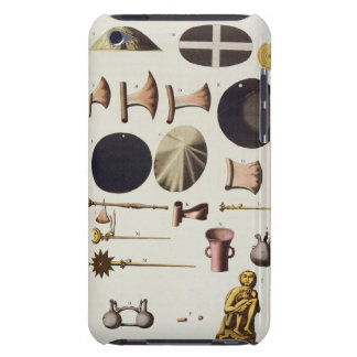 Inca tools and artefacts, Peru, from 'Le Costume A iPod Touch Case-Mate Case