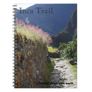 Inca Trail Note Book