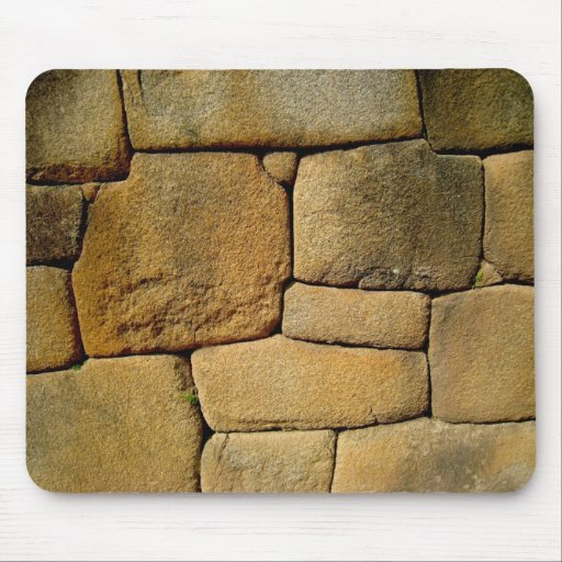 Incan Stones Mouse Pads