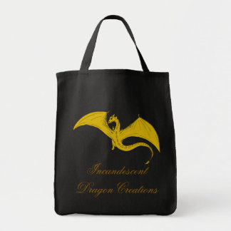 Incandescent Dragon Creations Grocery bag - Gold