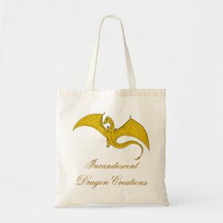 Incandescent Dragon Creations Tote bag - Gold