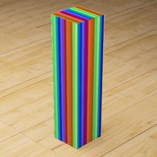 Incandescent Rainbow Wine Gift Boxes