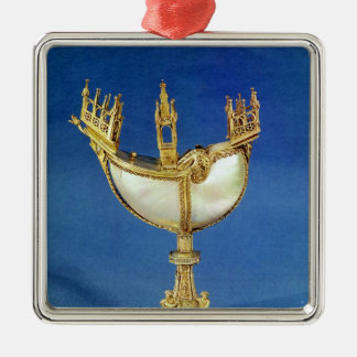 Incense holder in the shape of a boat christmas ornament