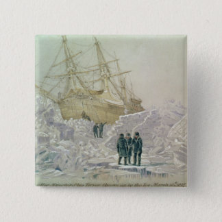 Incident on a Trading Journey: HMS Terror 15 Cm Square Badge