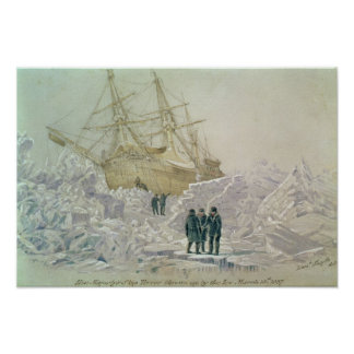 Incident on a Trading Journey: HMS Terror Poster
