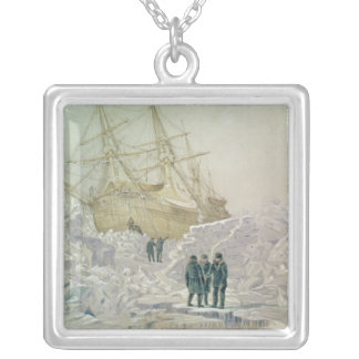 Incident on a Trading Journey: HMS Terror Silver Plated Necklace
