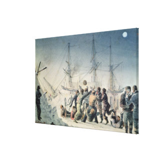 Incidents on a Trading Journey Canvas Print