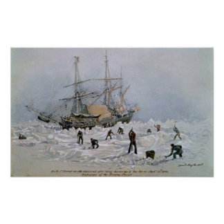 Incidents on a Trading Journey: HMS Terror Poster