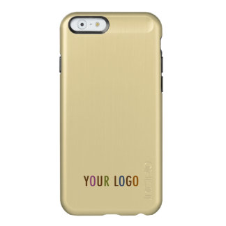 Incipio iPhone 6 6s Gold Case Custom Business Logo Incipio Feather® Shine iPhone 6 Case