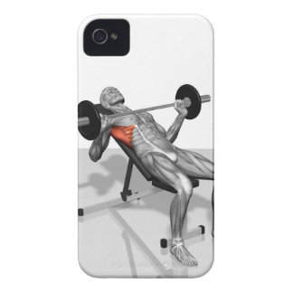 Incline Bench Press 2 iPhone 4 Cover