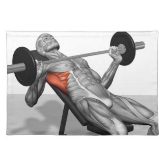 Incline Bench Press 2 Placemat