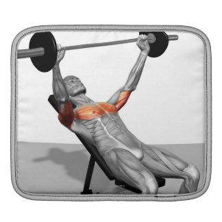 Incline Bench Press iPad Sleeve