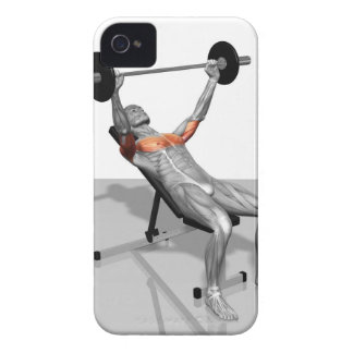 Incline Bench Press iPhone 4 Case
