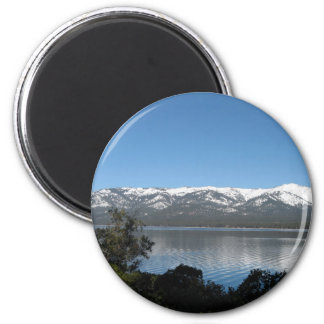 Incline Village, North Shore Lake Tahoe 6 Cm Round Magnet