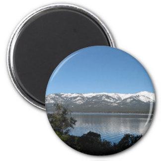 Incline Village, North Shore Lake Tahoe 6 Cm Round Magnet