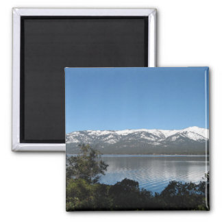 Incline Village, North Shore Lake Tahoe Square Magnet