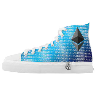 Include Soles: High Top Shoes with Ethereum Logo