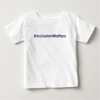#InclusionMatters infant t-shirt