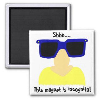 Incognito Mustache & Glasses Magnet