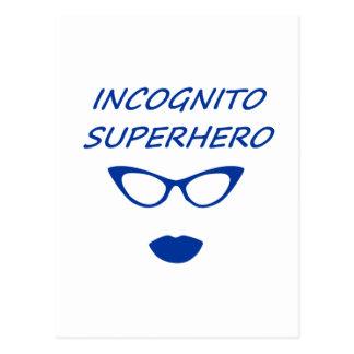 Incognito Superhero 03BL Postcard