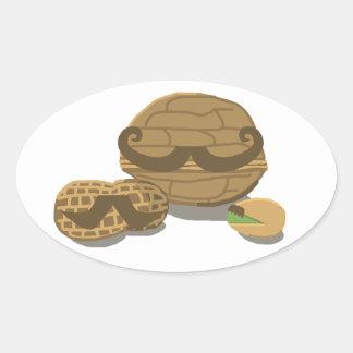 Incognuto Oval Sticker