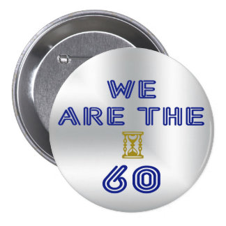 Incoming goods of acres the 60 7.5 cm round badge