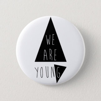 Incoming goods of acres Young 6 Cm Round Badge