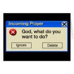 INCOMING PRAYER