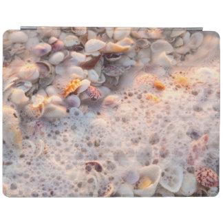 Incoming Surf And Seashells On Sanibel Island iPad Cover