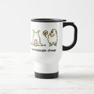 Inconsiderate Sheep Travel Mug