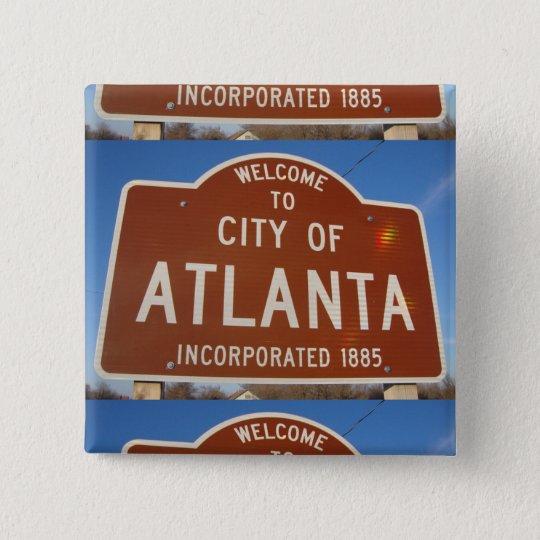 Incorporated Atlanta 15 Cm Square Badge