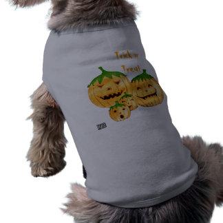 Incorrigible Pumpkins Doggy Top Sleeveless Dog Shirt