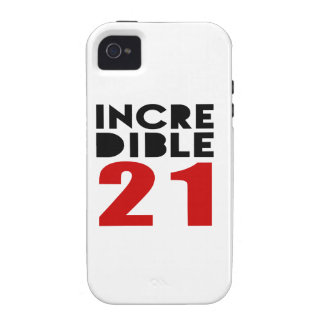 Incredible 21 Birthday Designs Vibe iPhone 4 Cases