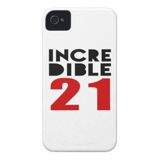 Incredible 21 Birthday Designs iPhone 4 Cases