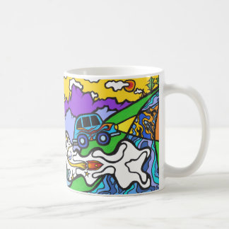Incredible Flying Car - mug