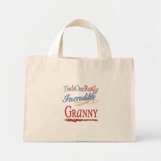 Incredible GRANNY Tote Bags