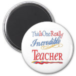 Incredible Teacher Refrigerator Magnets