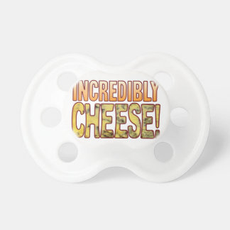Incredibly Blue Cheese Baby Pacifiers